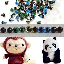 10mm DIY Toy Plastic Safety 100pcs Eyes For Teddy Bear/Dolls/Toy Animal/Felting