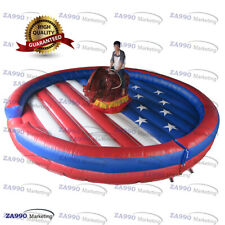 16ft Commercial Inflatable Rodeo Riding Bull Machine Sport Game With Air Blower
