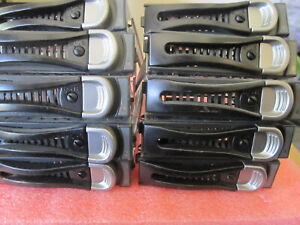 "Lot of 10 Dell GTMD2 C6220 C6100 3.5"" SAS SATA HDD Tray Caddy"