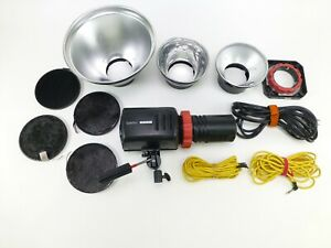 Speedotron Force 10 Monolight Head with Bulb, Power Cord and Accessories - in EC