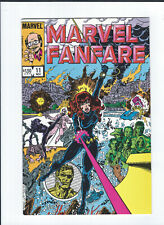 Marvel Fanfare 11 12 #11 #12 1st app & 1st Cover Iron Maiden Villain Black Widow