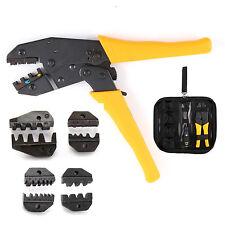 Conjunto de crimpadora tenaza crimpar alicate engarzador herramienta terminales