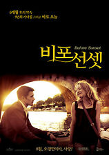 Before Sunset Ethan Hawke 2016 Korean Mini Movie Posters Flyers Released A4 Size