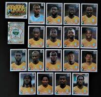 Panini WM 2010 Elfenbeinküste Ivory Coast Mannschaft Team Complete World Cup WC
