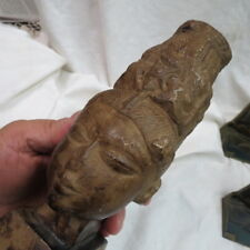 primitive looking South American figural bust / statue 1961 Austin Products nice