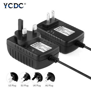 DC 12V 2A Power Adapter Supply Charger Transformer For CCTV Camera LED Strip 1A