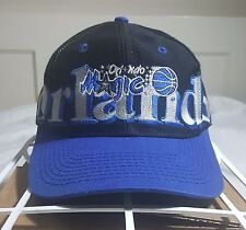Vintage Orlando Magic Logo 7 Snapback Hat Cap