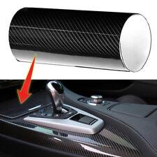 6D Waterproof Carbon Fiber Vinyl Car Wrap Sheet Roll Film Sticker Decal Paper x1