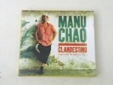 MANU CHAO - CLANDESTINO - LIMITED EDITION BOX CD + SINGLE 1999 NUOVO!CENTRAL-DP