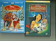 Pocahontas 10th Anniversary Edition Plus Beauty and the Beast Christmas DVD