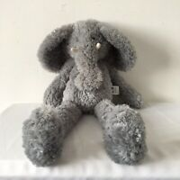 Large Jellycat Grey Scrumpty Elephant Plush Beanie Soft Toy J966