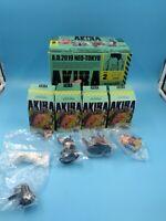 neuf mini figurine AKIRA PART 2 MINIQ DISPLAY 4 figurines complet serie 2