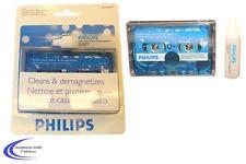 Reinigungskassette PHILIPS MC - Tonkopf Reiniger - Tape Deck Cleaner Kassette
