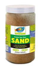 Artoys Colour Art Sand - Brown 600g for School & Home & Party Craft Sand Art