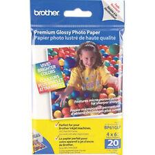 "Genuine Brother BP61GLP Premium Glossy 4"" x 6"" Photo Paper - 40 Sheets (2x20PK)"