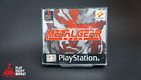 Metal Gear Solid Sony PS1 Playstation 1 Boxed VGC PAL Silent Hill Demo Free UK P