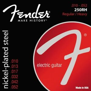 Fender 250RH Super 250 Nickel-Plated Steel Electric Strings - Heavy