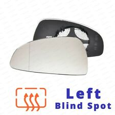 bp Left Passenger Side Wing Mirror Glass For AUDI TT 1999-06 Convex Heated Blue