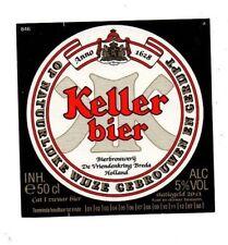 Netherlands - Beer Label - Bierbrouwerij de Vriendenkring, Breda- Kellerbier