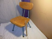 VINTAGE MID-CENTURY MODERN AMERICAN SEATING CHILD SCHOOL CHAIR CLASSMATE EAMES W