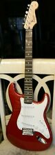 Squier Strat Electric Guitar By Fender Excellent Condition Made In Indonsesia