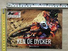 KEN DE DYCKER HZ CARD RED BULL KTM FACTORY TEAM MXGP MX2 SIDI CAIROLI DESALLE