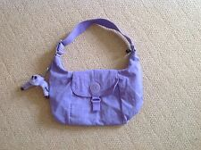 Kipling Handbag In lilac With Addison Monkey - Used Once