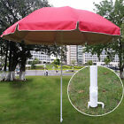 ☆ White Fishing Umbrella Stand Holder Beach Parasol Sand Anchor Garden Outdoor
