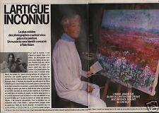 Coupure de presse Clipping 1986 Jacques Henru Lartigue  (6 pages)