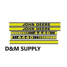 Decal set to fit John Deere 4440 tractor