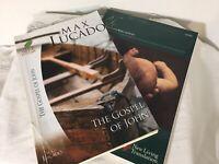 Set of 2 Study Guides The Gospel of John by Max Lucado & Life Applications John