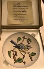"Goebel ""Wildlife"" 1st Edition Plate in bas relief ""Robin"" 1973"