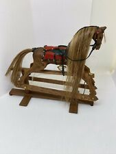 Dolls House 1:12 Scale Rocking Horse By Daws. RRP £175+