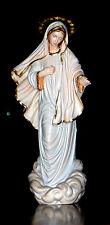 Medugorje Gospa Figur, Maria Madonna Holz, Lady of Medjugorje wood