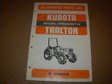 Kubota M6030dt N Tractor Parts Manual