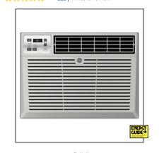 New GE AEQ10AS 10,000 BTU 450sf Room Window Air Conditioner AC NIB