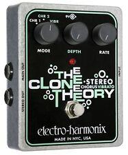 Electro-Harmonix The Clone Theory Stereo Chorus - free shipping