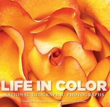 Life in Color: National Geographic Photographs-ExLibrary