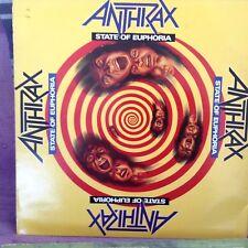 vinyle 33t LP Anthrax state of euphoria 209334