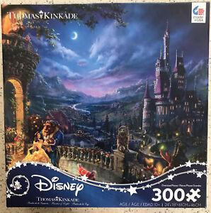 Thomas Kinkade Disney Jigsaw Puzzle Beauty and the Beast 300 Piece NEW Sealed