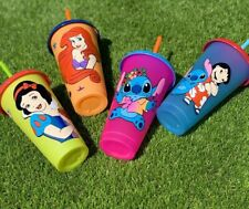 Reusable cup Tumbler Disney inspired with straw and optional  personalization pr