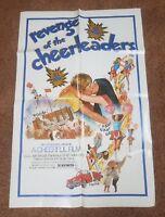 Original Revenge Of The Cheerleaders Movie Poster – 1 Sheet (27x41) 1976