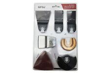 Kit da 16 pz accessori per smerigliatrice utensile multifunzione lama taglio