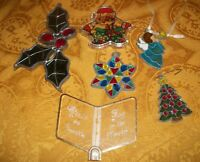 Set of 6 Christmas Ornaments/Decorations
