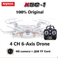 Syma X5C Explorers 2.4G 4Ch 6-Axis Gyro Rc Quadcopter with Hd Camera Rtf Us Man