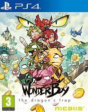& Wonder Boy The Dragon's Trap Sony PlayStation 4 Ps4 Game