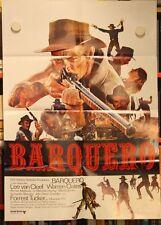 BARQUERO Poster LEE VAN CLEEF, WARREN OATES, FORREST TUCKER, KERWIN MATHEWS 1970
