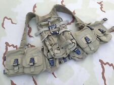 OLDSCHOOL Eagle Ind H-harness Vest w/ MBSS Pack Khaki RRV MLCS NSW Navy SEAL SOF