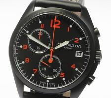 NEW!! HAMILTON H76582733 KHAKI AVIATION PILOT PIONEER CHRONO QUARTZ Men's_340337
