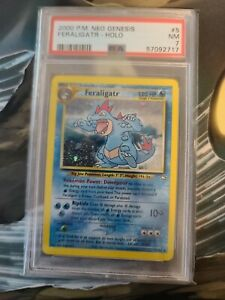 Feraligatr 5/111 Rare Holo 2000 Neo Genesis PSA 7